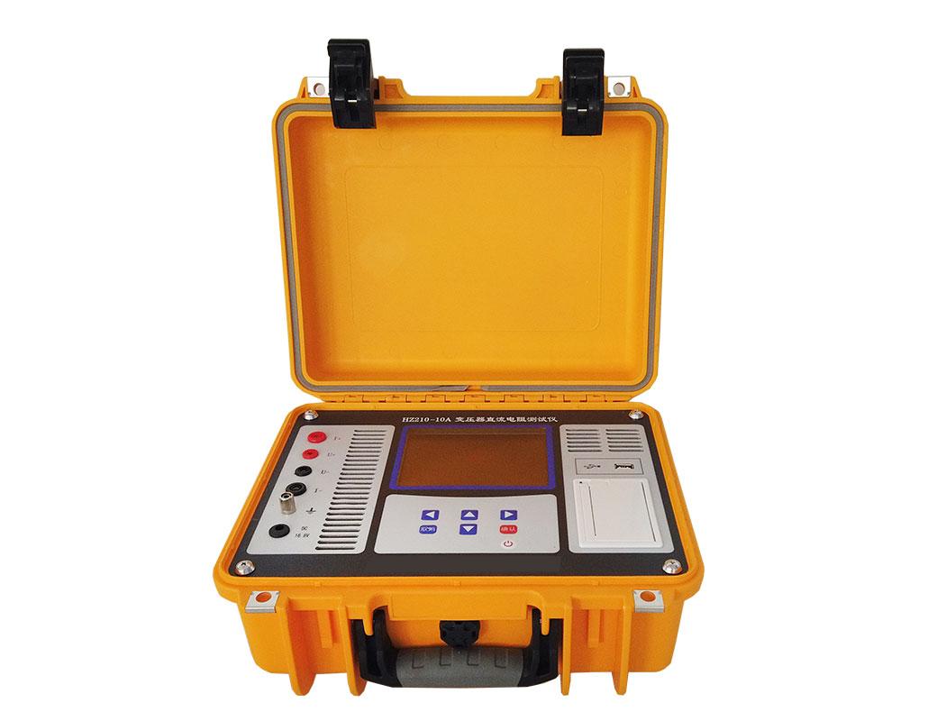 CY210-10A-D 变压器直流电阻测试仪-带打印